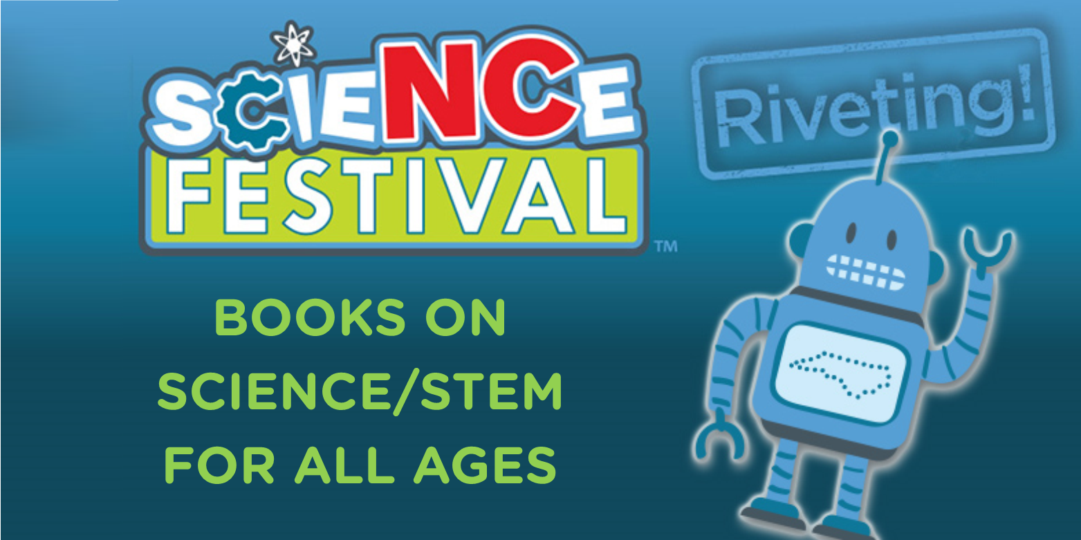Read books about Science/STEM as seen on Charlotte Today.