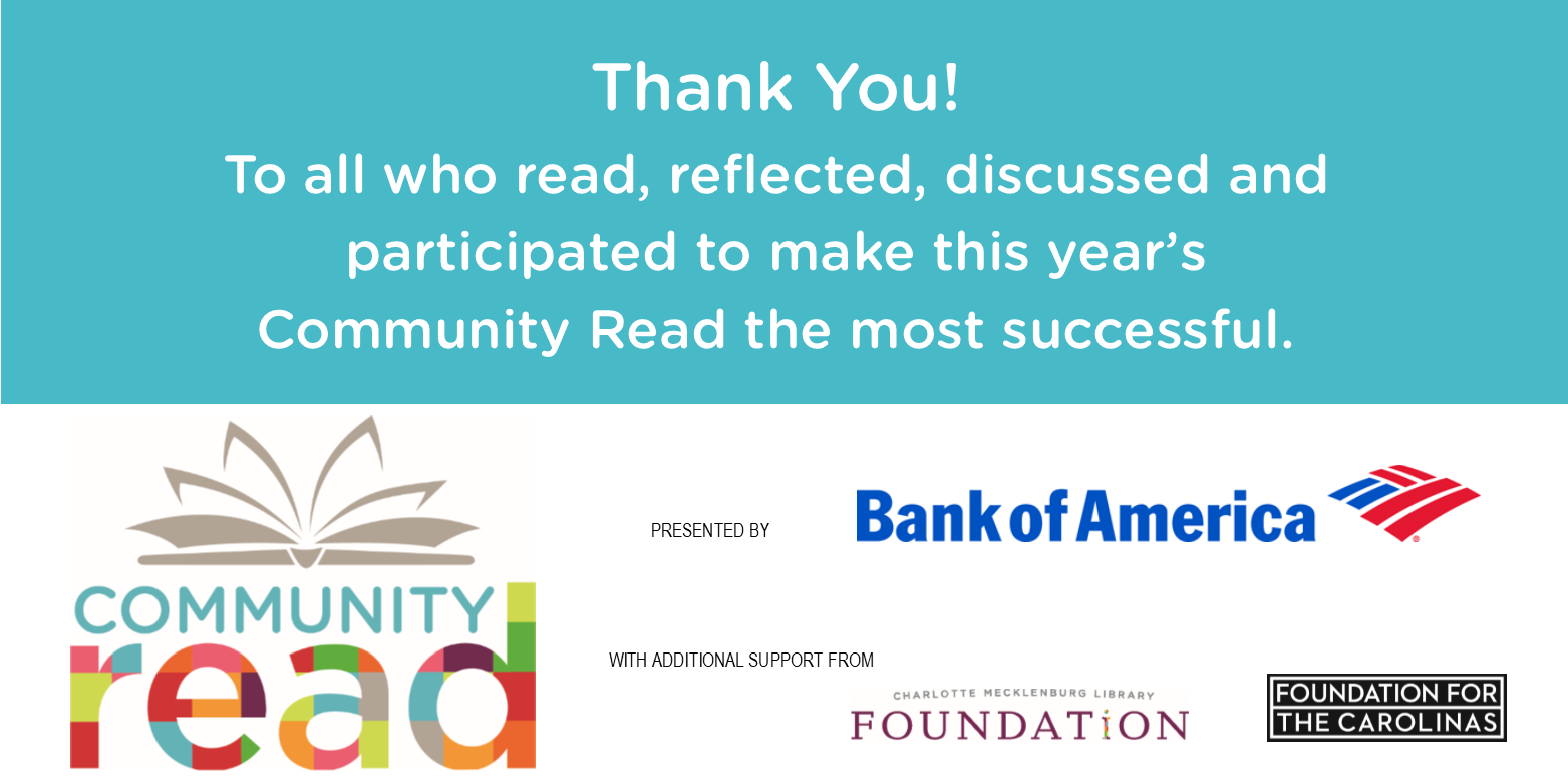 Community Read 2019 was a success! Read about the highlights here.