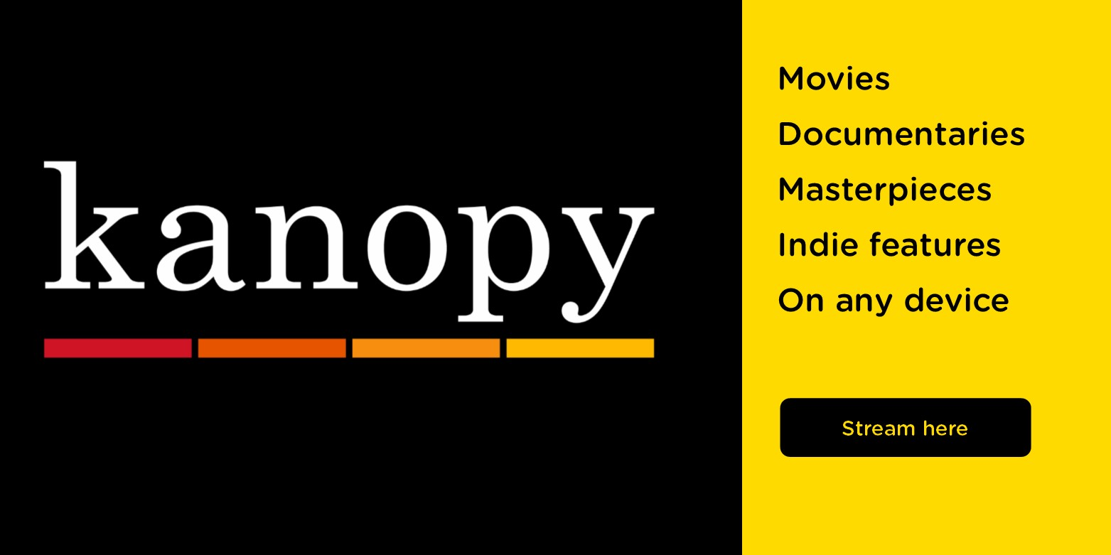 Stream more than 30,000 films and documentaries for FREE with Kanopy!