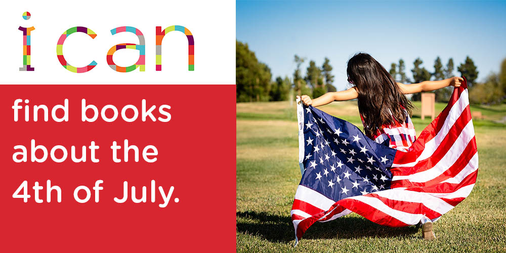 Patriotic reads available at your local library branch or even at your fingertips.