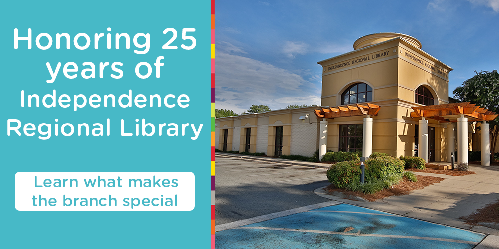 Celebrate 25 years of Independence Regional Library!