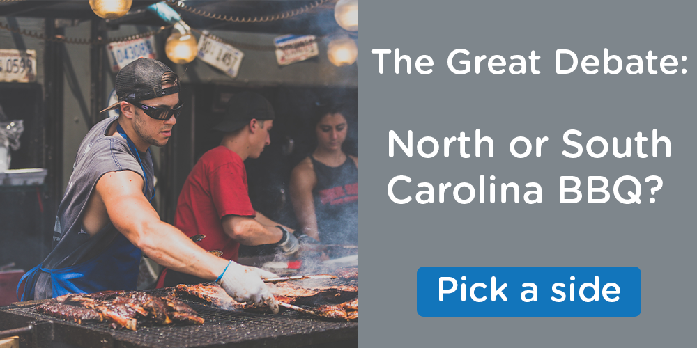 What's your style? North Carolina or South Carolina BBQ?