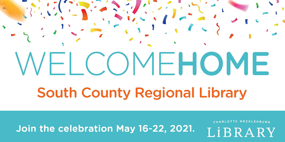 Bring the pride of South County Regional Library home during spirit week May 16-22, 2021.