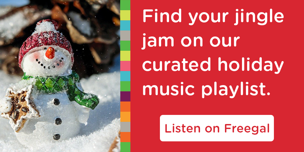 What are the holidays without music? Don't find out!