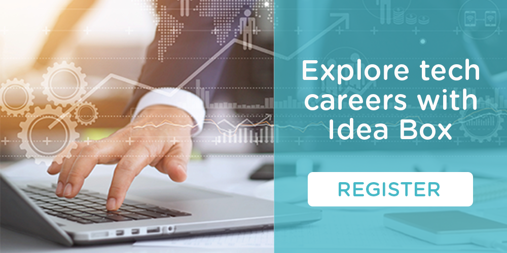 Join us May 22 to explore tech careers with Idea Box.