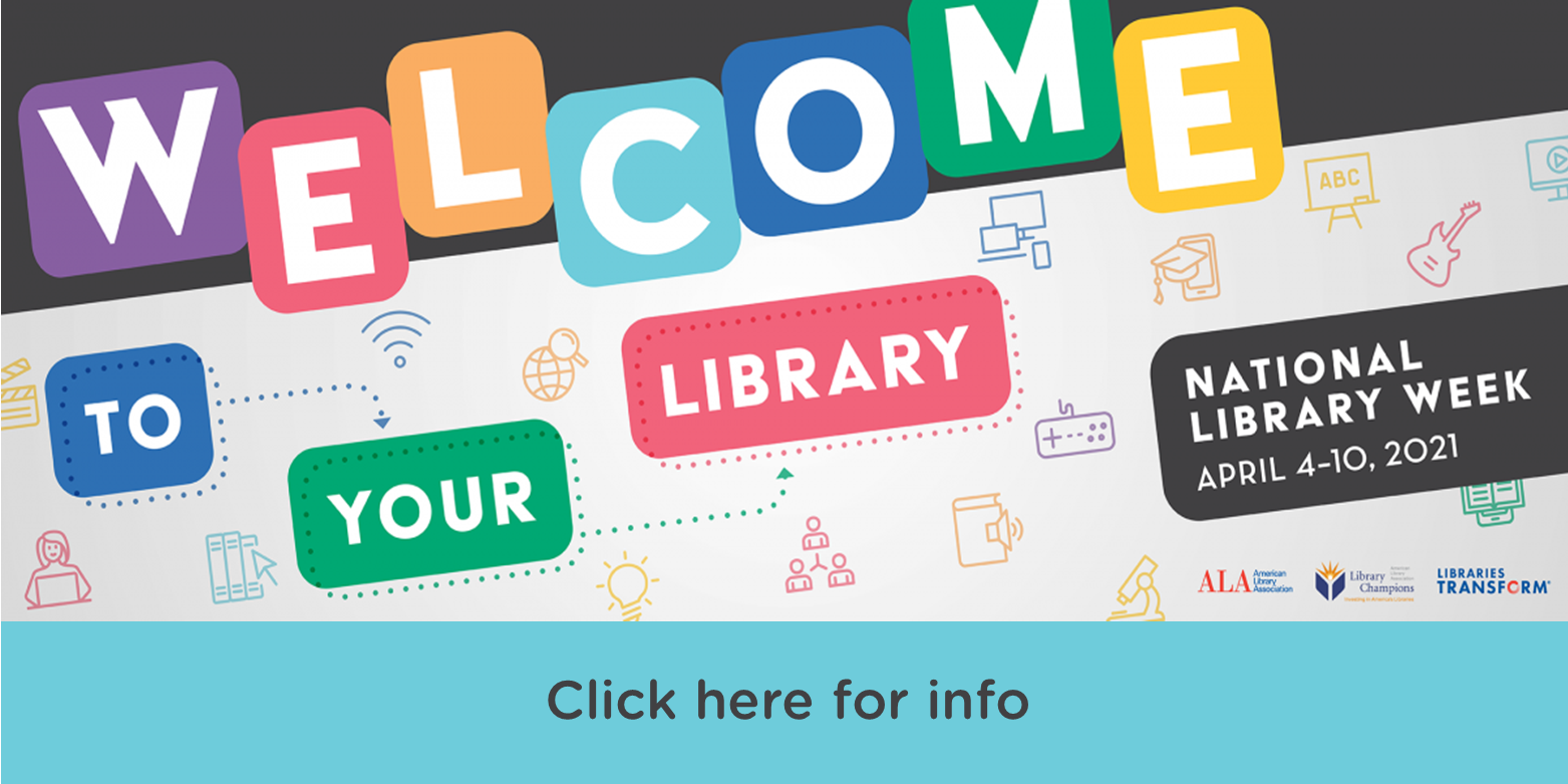 Celebrate National Library Week with Charlotte Mecklenburg Library.
