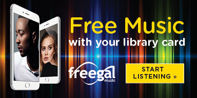 Stream and download music for FREE with Freegal and your Library card!