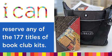 New book club kits at the Library.