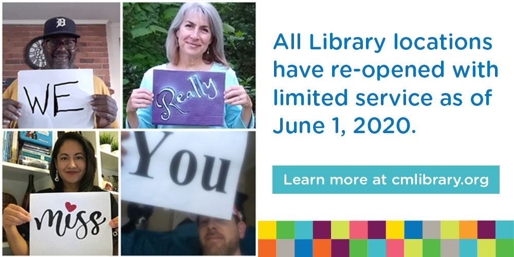 I can return to the Library on June 1, 2020.