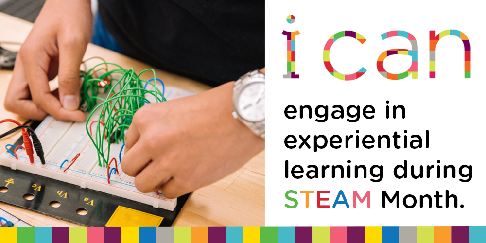 Celebrate STEAM Month this October at the Library.