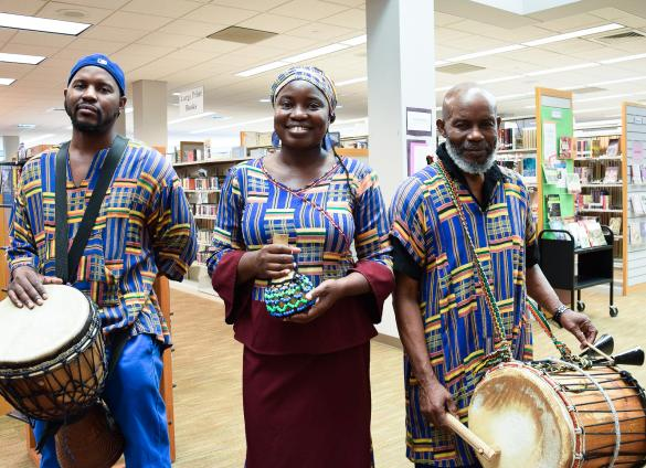 Black History Month at the Library