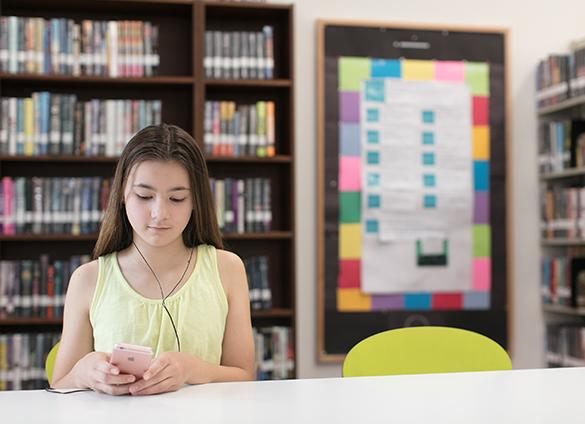 Fill up your new device for free at the Library