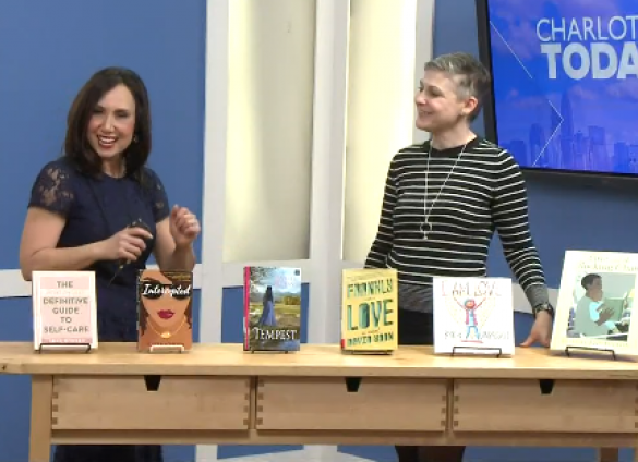 "This February, Charlotte Mecklenburg Library's Branch Channel Leader and Interim Director of Libraries, Dana Eure, discussed six ""Romance is in the air"" themed reads on WCNC's Charlotte Today."