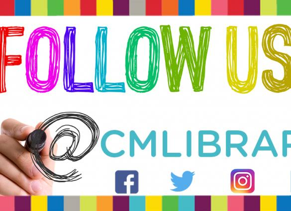 Connect with the Charlotte Mecklenburg Library on social media.