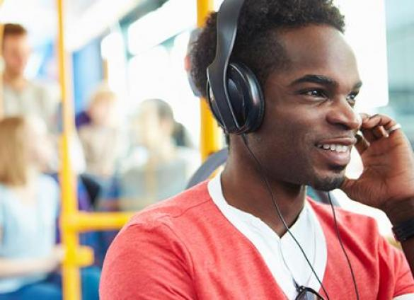 Stream new audiobooks and media with your Library card!