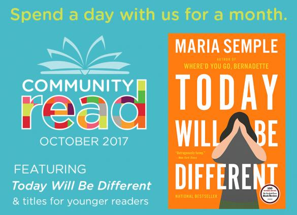 Spend a day with us for a month with Community Read