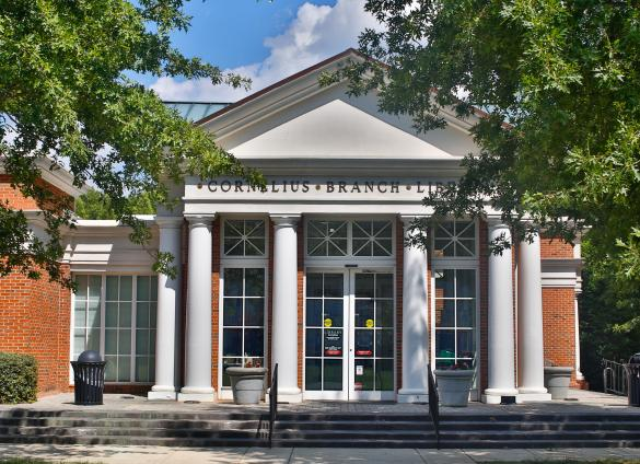 Charlotte Mecklenburg Library's Cornelius Library celebrates its 20th anniversary in February 2020.