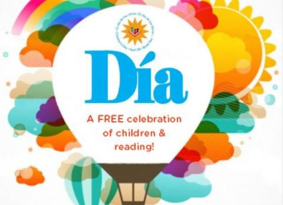 Join us in April for Día, a celebration of children, reading and culture.