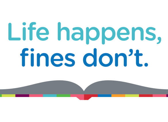 Celebrate Going Fine Free with the Library