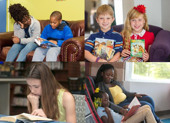 Join Charlotte Mecklenburg Library this November for fun, educational programs and activities in celebration of National Family Literacy Month.