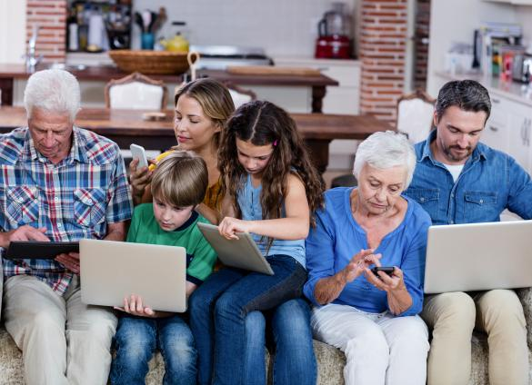 Stay connected while staying home with online programming from the Library.