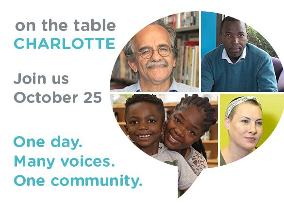 On the Table CLT: what's your Charlotte story?
