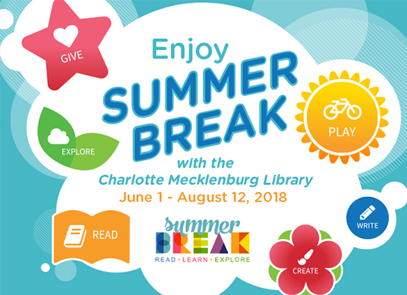 Don't let the children have all the fun...Summer Break is for adults too!