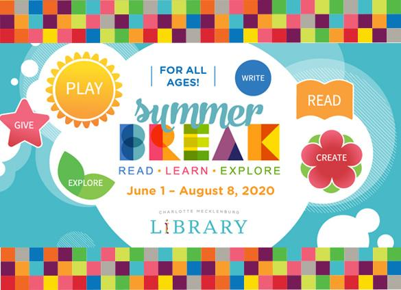 Charlotte Mecklenburg Library sends thanks to each of our 2020 Summer Break sponsors!