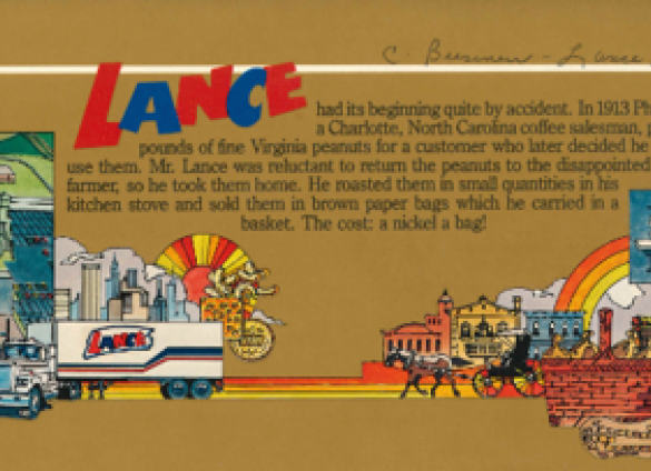 Charlotte Mecklenburg Library's Robinson-Spangler Carolina Room explores the history of Lance Crackers.