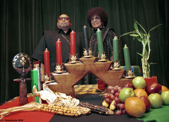 "Dr. Maulana Karenga. Courtesy of Ahjamu Umi's blog ""The Truth Challenge"""