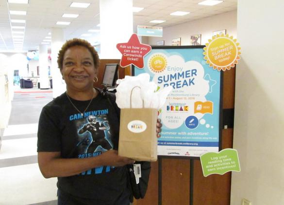 Claim your Summer Break prizes at any Library location beginning August 10!