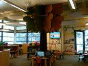 Tree in children's department