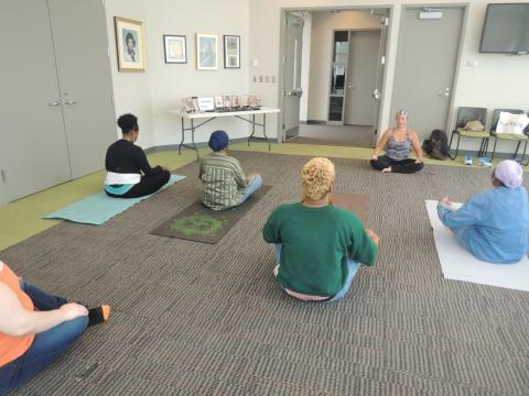 Meditation at Beatties Ford Road Library
