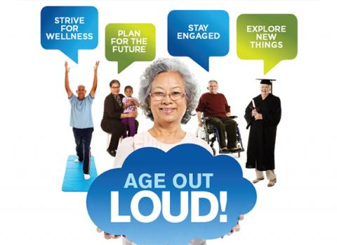 Age out loud at the Library