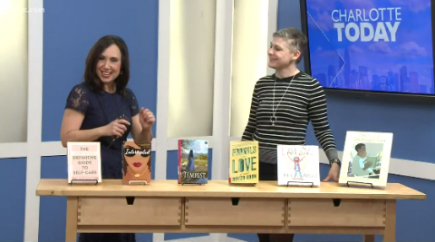 """This February, Charlotte Mecklenburg Library's Branch Channel Leader and Interim Director of Libraries, Dana Eure, discussed six """"Romance is in the air"""" themed reads on WCNC's Charlotte Today."""