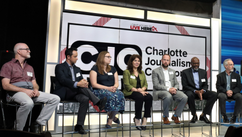 "The Charlotte Journalism Collaboration will host a two-part, virtual program, including a watch party and community conversation for ""Black South Rising"" in June-July 2020."