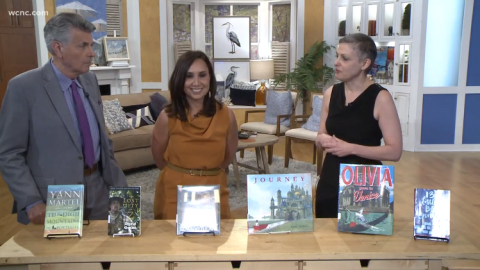Dana Eure of Charlotte Mecklenburg Library discusses six travel titles with the hosts of WCNC's Charlotte Today  on July 11, 2019.