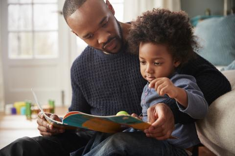 The Library offers a variety of children's book resources to help you talk to your child about race in an affirming way.