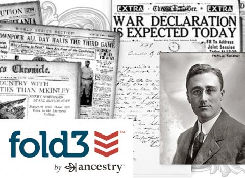 Access decades of military records and history with Fold3 Library Edition, now available from the Library