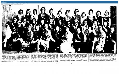 Library Links Woman to Pageant Past