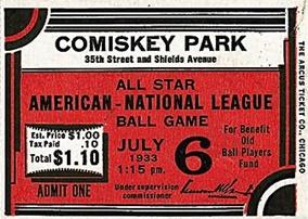 1933 MLB All Star Game